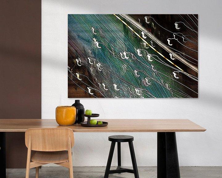 Sfeerimpressie: abstracte kunst(boom) van CreaBrig Fotografie