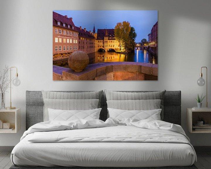 Beispiel: Heilig-Geist-Spital in Nürnberg von Werner Dieterich