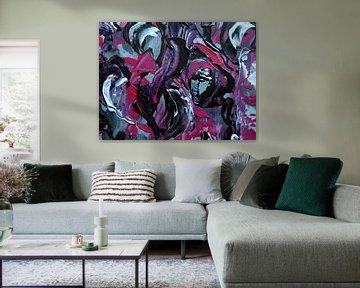 Purple Garden von Irma Derix