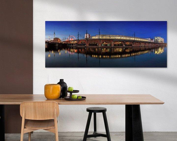 Impression: Pont Jannowitz de Berlin sur Frank Herrmann