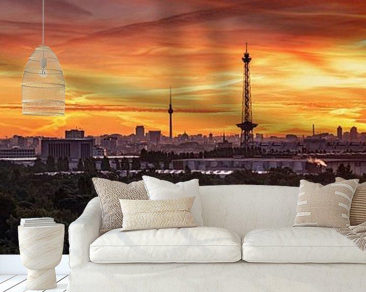 Impression: Berlin City Skyline sur Frank Herrmann