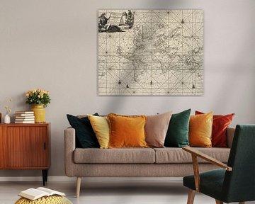 Carte du monde historique