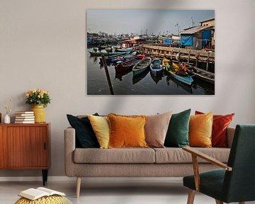 Slum Harbour van BL Photography