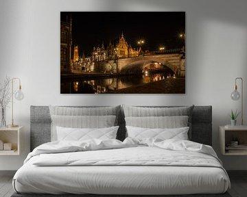 Zomeravond in Gent_01 von Alfred Meester