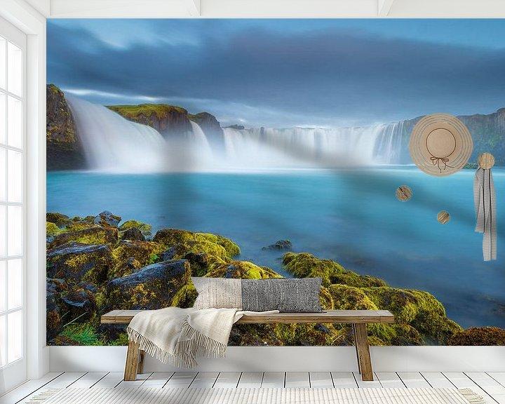 Beispiel fototapete: Goðafoss von FineArt Prints | Zwerger-Schoner |