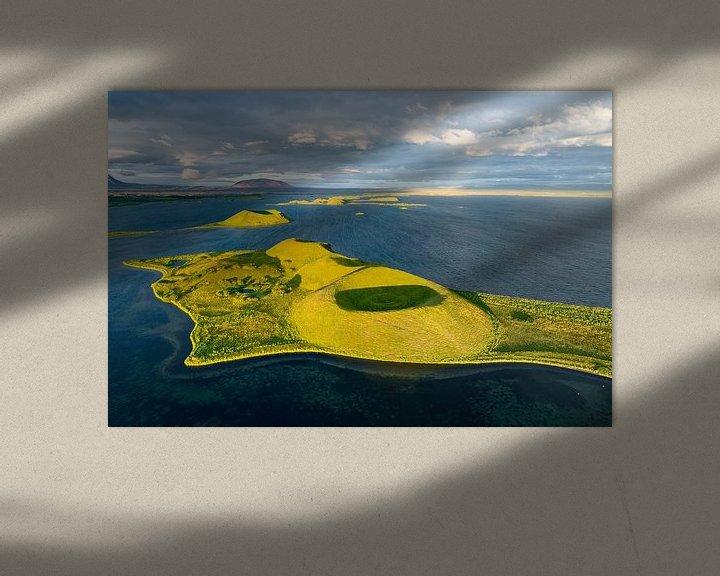 Beispiel: Myvatn Volcanic Lake, Iceland von FineArt Prints   Zwerger-Schoner  