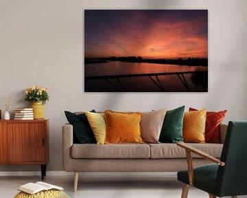 Adembenemende zonsondergang bij Nesselande van Capture the Moment 010