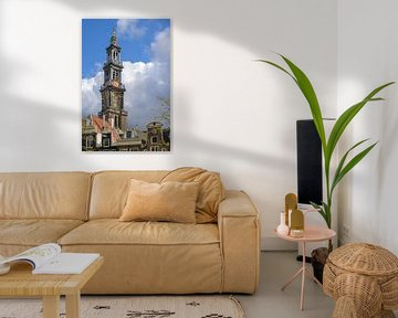 Close-up Westertoren van FotoAmsterdam / Peter Bartelings
