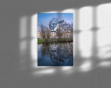 Authentieke windmolen van Wilbert Tintel