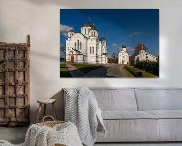 Orthodoxe Kirche in Polotsk, Weißrussland von Adelheid Smitt