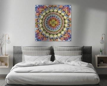 Gloriosa Mandala van Ruud van Koningsbrugge
