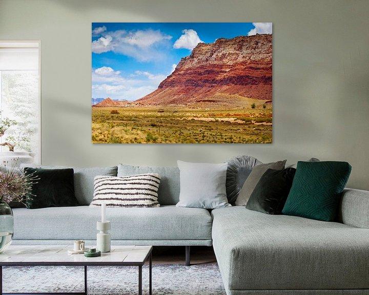 Sfeerimpressie: Layers of the mountain - USA van Ricardo Bouman