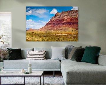 Schichten des Berges - USA von Ricardo Bouman
