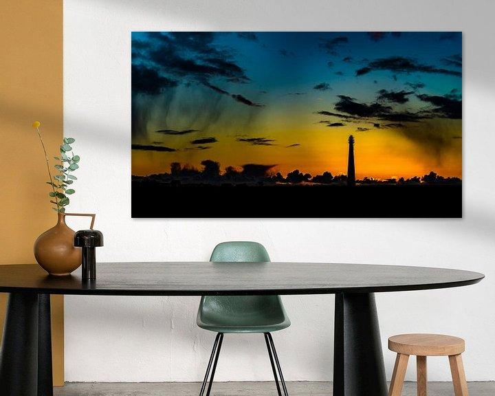 Sfeerimpressie: Sunset Lighthouse Lange Jaap van TCPhoto.nl