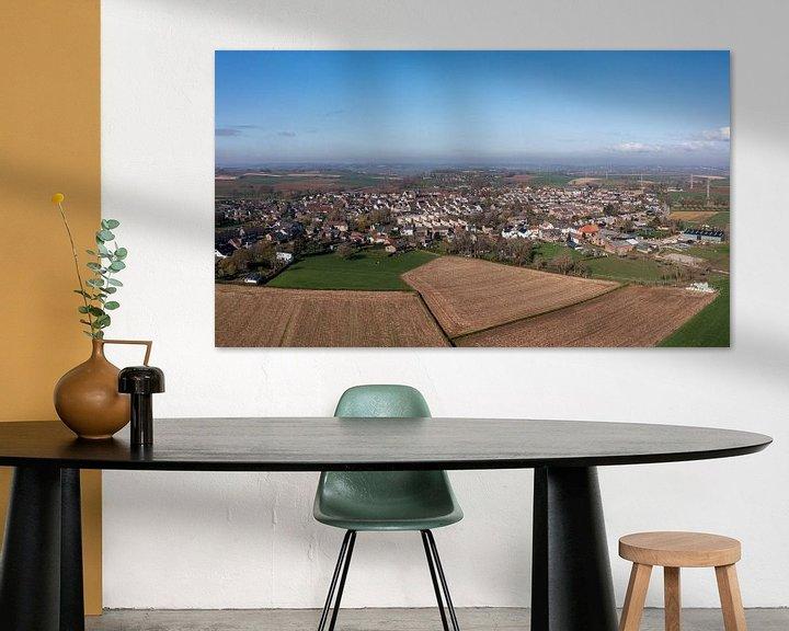 Sfeerimpressie: Luchtfoto van Ubachsberg in Zuid-Limburg van John Kreukniet