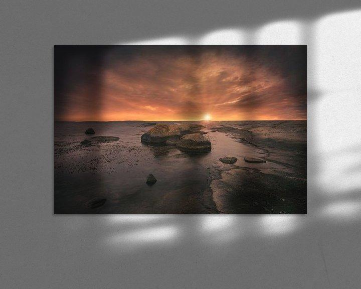Sfeerimpressie: Rotsen in zee (Zweden) van Skyze Photography by André Stein