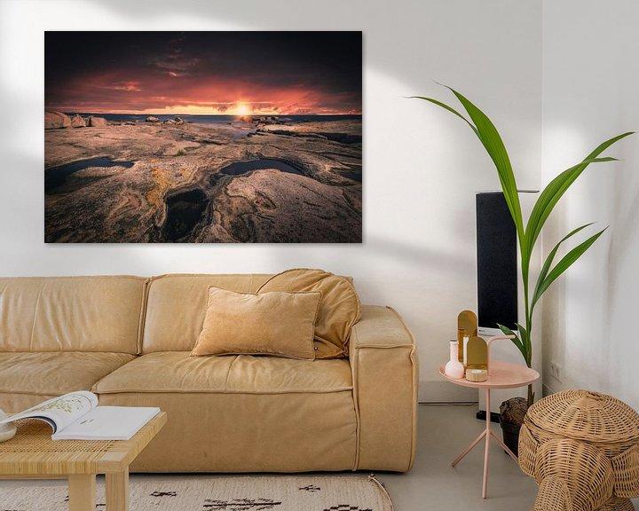 Beispiel: Felsenküste Schweden von Skyze Photography by André Stein