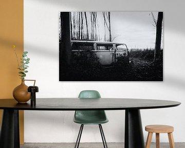 Oude Volkswagen Transporter van Maikel Brands