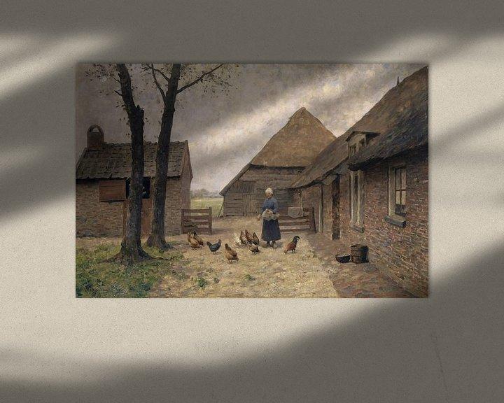 Beispiel: Holländischer Bauernhof, Alphonse Stengelin