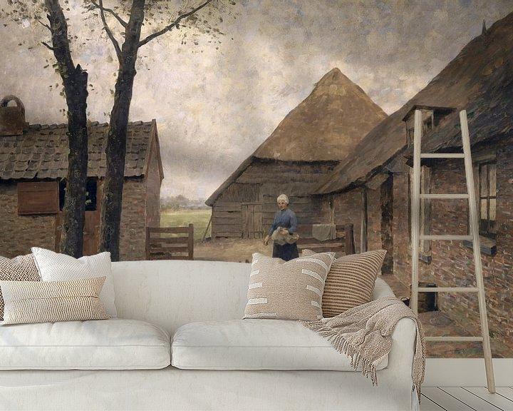 Beispiel fototapete: Holländischer Bauernhof, Alphonse Stengelin