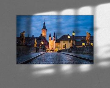 Würzburg bei Nacht von Michael Abid