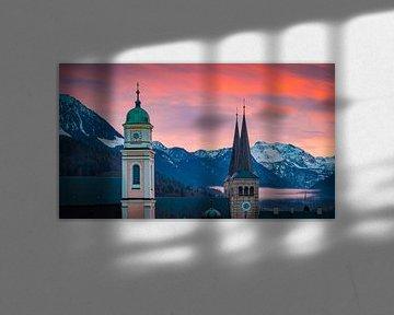 Abend in Berchtesgaden von Martin Wasilewski