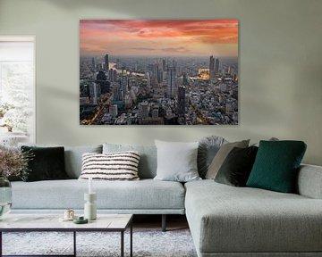Bangkok Stad van Bernd Hartner