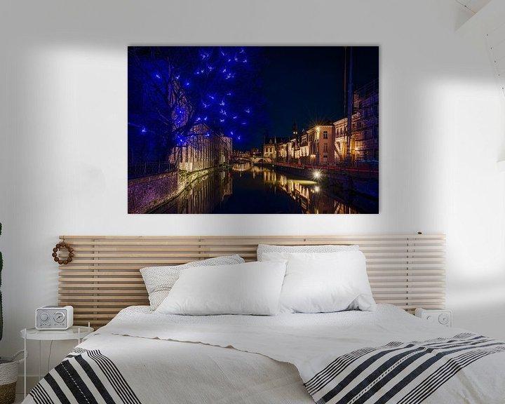 Sfeerimpressie: Gent by night van Jim De Sitter