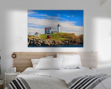 De Nubble-vuurtoren, Maine