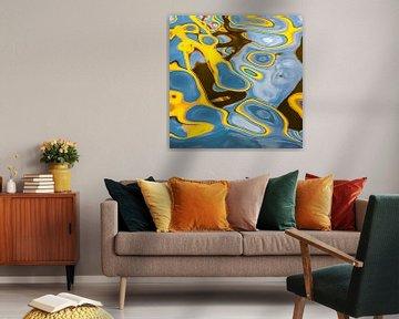 Amsterdam abstract bridges #2 van Lex van den Bosch