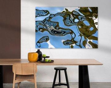 Amsterdam abstract bridges #3 van Lex van den Bosch