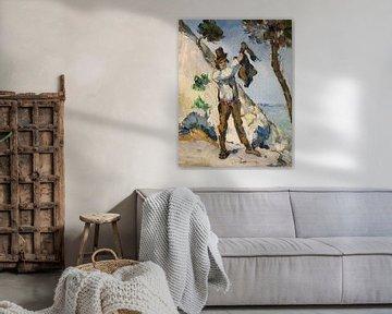 Der Mann mit dem Mantel, Paul Cézanne, 1873
