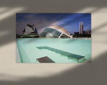 Valencia - L'Hemisfèric/ Ciudad de las Artes y las Ciencias