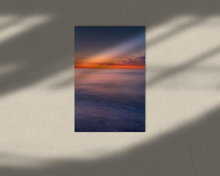 Sfeerimpressie: Zonsondergang op Juist van Dirk Rüter