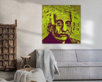 Albert Einstein E = mc2 von Kathleen Artist Fine Art