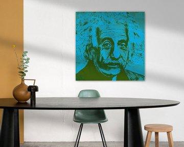 Albert Eisntein E = mc2 von Kathleen Artist Fine Art
