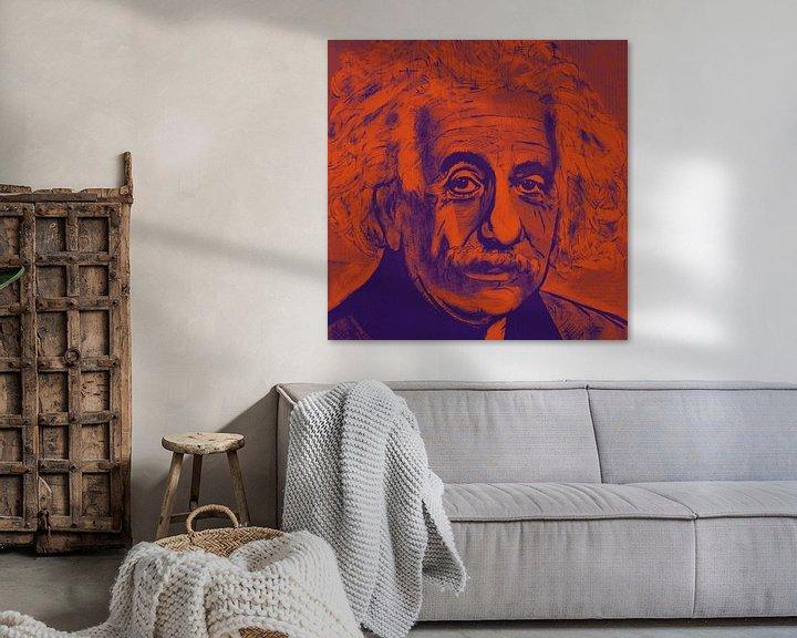 Beispiel: Albert Einstein E = mc2 von Kathleen Artist Fine Art