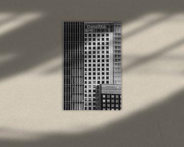 Deloitte-Gebäude @ Rotterdam von Rob Boon