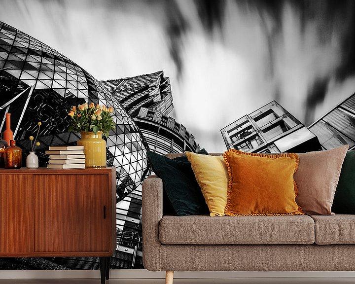 Sfeerimpressie behang: Grand Lisboa Macau van Cho Tang
