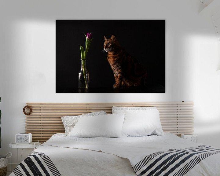 Beispiel: Katze mit Blume von Special Moments MvL