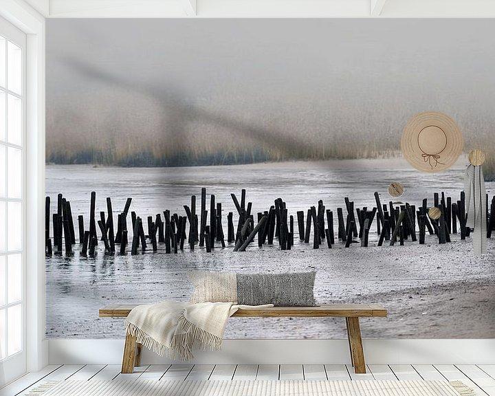 Beispiel fototapete: Im November am Fluß - Maßstab 1:2 von Andreas Wemmje