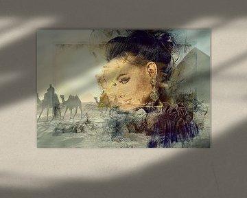 Belle, un portrait d'Egypte van Rudy & Gisela Schlechter