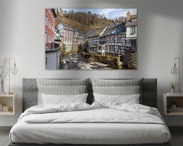 Historischer Stadtkern von Monschau in der Eifel von Reiner Conrad