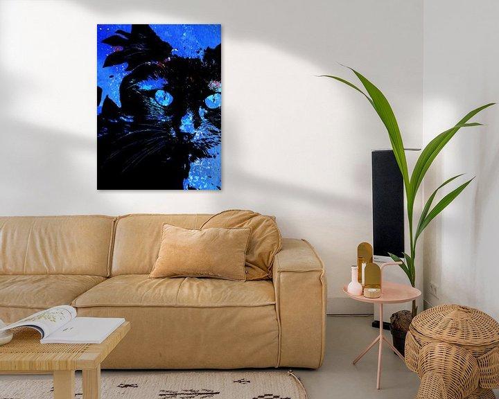 Sfeerimpressie: Kattenkunst - Storm 3 van MoArt (Maurice Heuts)