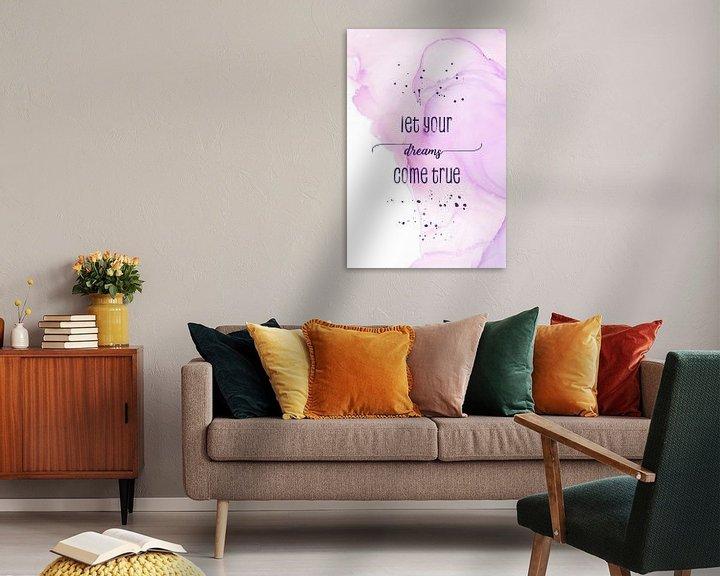 Sfeerimpressie: Let your dreams come true | floating colors van Melanie Viola