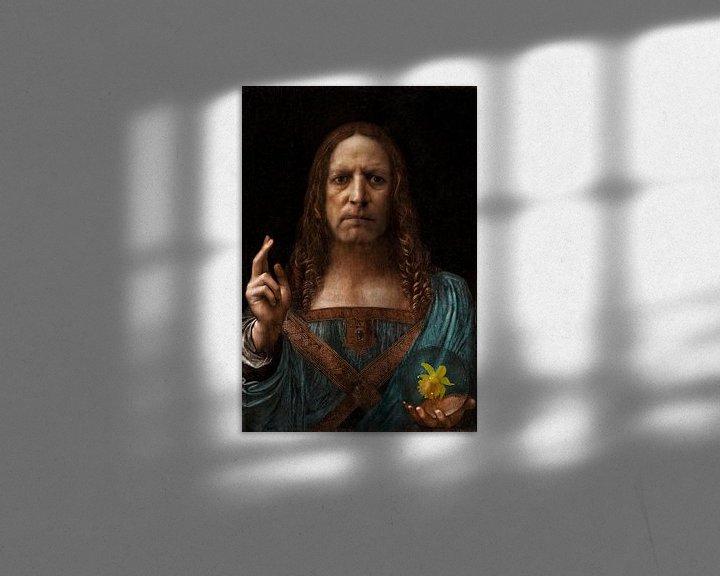 Beispiel: Dominus Mundi: Besitzen Sie Ihren eigenen Da Vinci von Ruben van Gogh