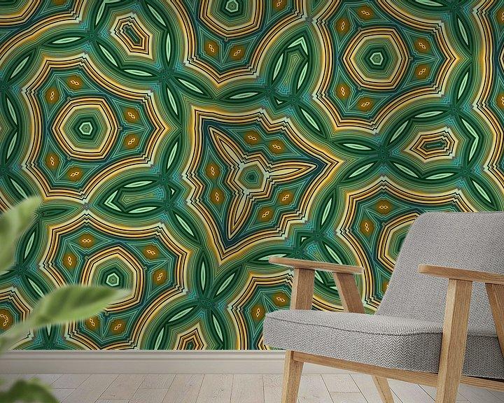 Sfeerimpressie behang: Caleidoscoop van Jessica Berendsen