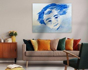 Visions in Blue van AtelierMindYourHead