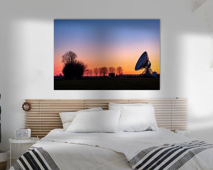 Beispiel: Sonnenuntergang an der großen Ähre in Burum, Friesland von Evert Jan Luchies