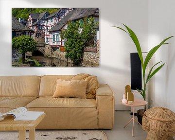 Het pittoreske dorpje Monreal in de Eifel van Reiner Conrad